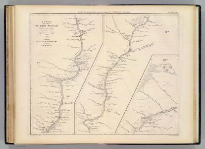 Carte, cours du Haut Uruguay, 1. flle. Concepcion-Uruguayana.