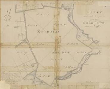 Zuidplaspolder (in Schieland), gemeente Moordrecht, Waddinxveen, Moercapelle, Zevenhuizen en Nieuwerkerk a/d IJssel.