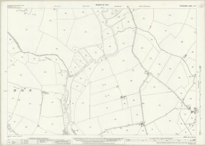 Oxfordshire XL.7 (includes: Cuddesdon; Great Milton; Waterstock; Wheatley) - 25 Inch Map