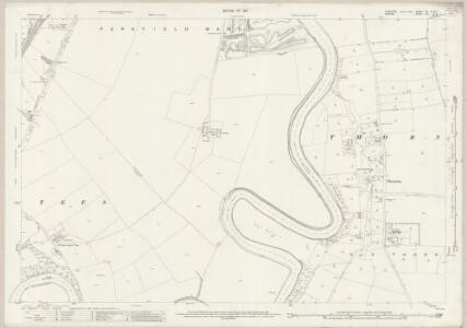 Yorkshire XV.7 (XV.8) (includes: Egglescliffe; Elton; Ingleby Barwick; Long Newton; Preston On Tees; Stockton On Tees) - 25 Inch Map
