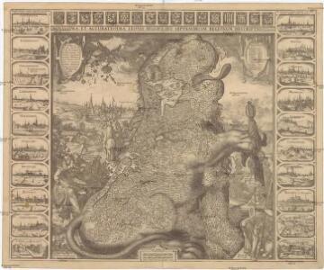 Novissima, et accuratissima leonis Belgici, seu septemdecim regionum descriptio