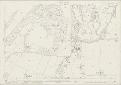 Kent XLIV.8 (includes: Eastling; Ospringe; Throwley) - 25 Inch Map