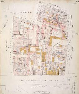 Insurance Plan of London Vol. XI: sheet 319