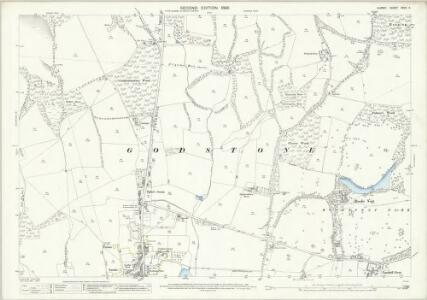 Surrey XXVII.11 (includes: Godstone) - 25 Inch Map