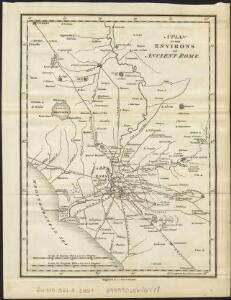 A plan of the environs of ancient Rome