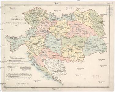 Landwehrterritorial- und Landwehr-Ergänzungsbezirkseinteilung