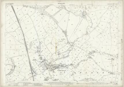 Cumberland LXXII.16 (includes: Beckermet St Bridget) - 25 Inch Map