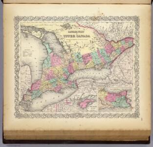 Canada West or Upper Canada.