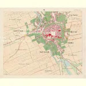 Klattau (Klattowy) - c3137-1-010 - Kaiserpflichtexemplar der Landkarten des stabilen Katasters