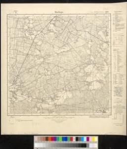 Meßtischblatt 1801 : Backum, 1934
