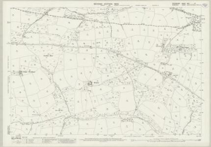 Devon XXIII.12 (includes: Brushford; East Anstey; Oakford) - 25 Inch Map