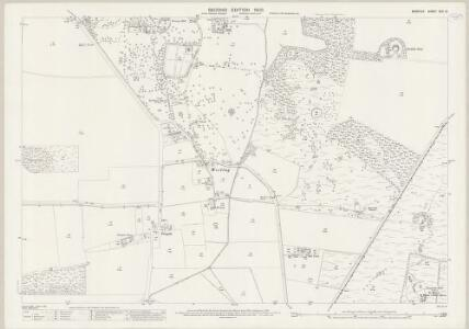 Norfolk XCII.12 (includes: Weeting With Bromehill) - 25 Inch Map