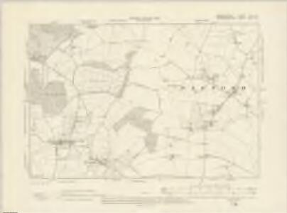 Warwickshire XLII.SE - OS Six-Inch Map