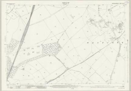 Buckinghamshire XXVII.7 (includes: Ashendon; Westcott; Wotton Underwood) - 25 Inch Map