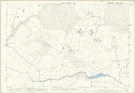 Staffordshire XXVIII.3 (includes: Cheswardine; Eccleshall; Tyrley) - 25 Inch Map
