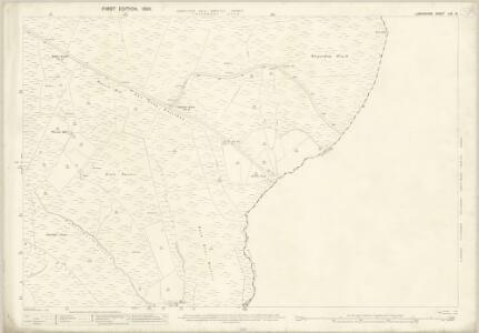 Lancashire LXV.13 (includes: Blackshaw; Cliviger; Todmorden) - 25 Inch Map