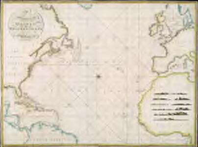 A new chart of the Atlantic or Western Ocean / improved by W. Heather; engraved by J. Stephenson.