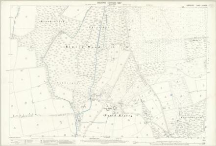 Hampshire and Isle of Wight LXXVIII.8 (includes: Ringwood; Sopley) - 25 Inch Map