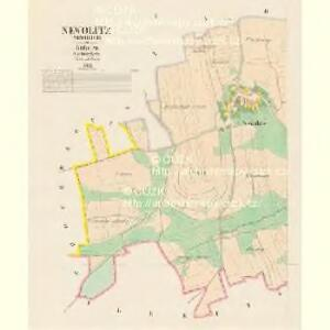 Newolitz (Newolice) - c5097-1-001 - Kaiserpflichtexemplar der Landkarten des stabilen Katasters