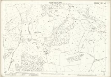 Herefordshire V.12 (includes: Norton; Stapleton; Willey) - 25 Inch Map