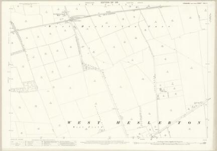 Yorkshire CVIII.11 (includes: Heslerton; Scampston) - 25 Inch Map