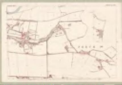 Perth and Clackmannan, Sheet XCVII.4 (with inset XCVIII.1) (Tibbermore) - OS 25 Inch map