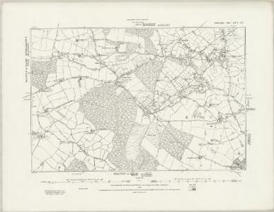 Staffordshire XXII.SW - OS Six-Inch Map