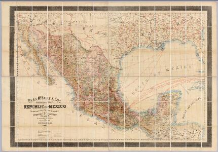 Rand, McNally & Co's. general map of the Republic of Mexico.