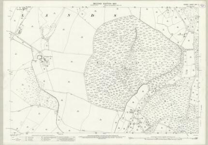 Dorset XXVI.2 (includes: Horton; Woodlands) - 25 Inch Map