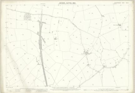 Leicestershire XXXIX.11 (includes: Allexton; East Norton; Hallaton; Horninghold) - 25 Inch Map