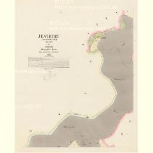 Jestřeby - c2859-1-001 - Kaiserpflichtexemplar der Landkarten des stabilen Katasters