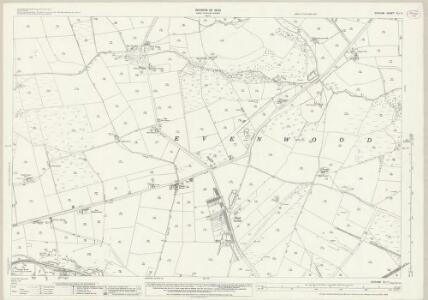 Durham XLI.11 (includes: Cockfield; Evenwood And Barony; Lynesack And Softley) - 25 Inch Map