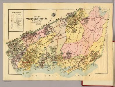 Map of Westchester Co.
