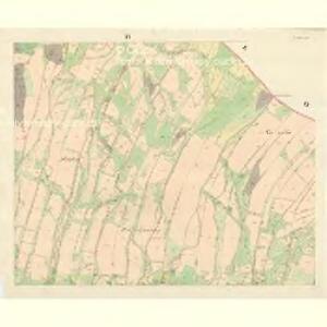 Tichau (Ticha) - m3107-1-004 - Kaiserpflichtexemplar der Landkarten des stabilen Katasters