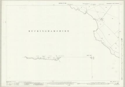 Bedfordshire XXXI.2 & 7 (includes: Edlesborough; Grove; Ivinghoe; Leighton Buzzard; Mentmore; Slapton) - 25 Inch Map