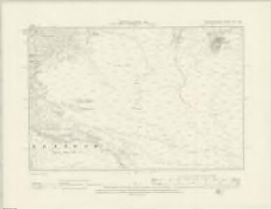 Merionethshire XVI.NW - OS Six-Inch Map
