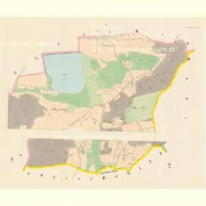 Patschiw (Patčjwo) - c5617-1-001 - Kaiserpflichtexemplar der Landkarten des stabilen Katasters
