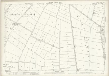 Norfolk LVI.6 (includes: Marshland St James) - 25 Inch Map