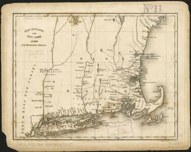 New England and New York in 1697