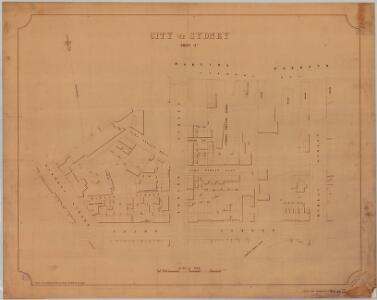 City of Sydney, Sheet E3, 1887