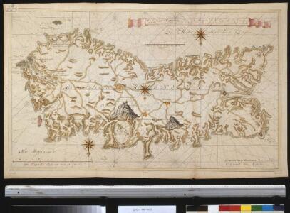 Het eijland Minorca geleegen in de Middelandsche Zee