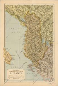 Neubertova podrobná příruční mapa Abanie