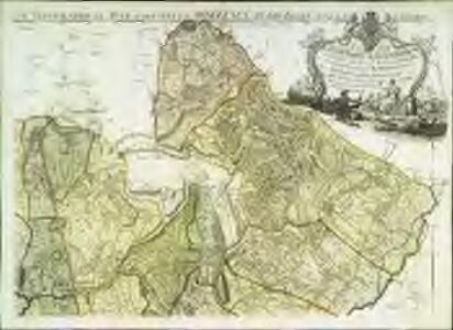 Carte topographique de le comté de Middlesex, 2