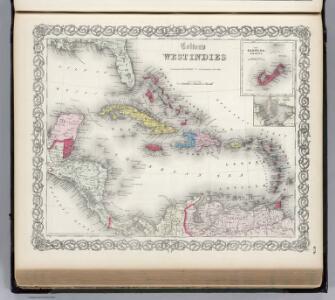 The West Indies.  Burmuda.
