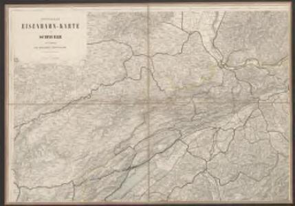 Officielle Eisenbahn-Karte der Schweiz