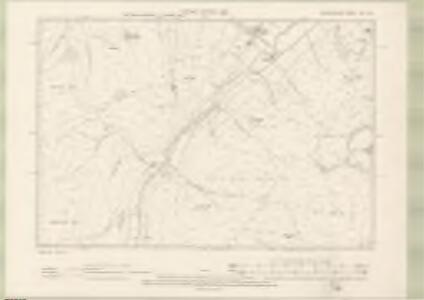 Peebles-shire Sheet XV.SE - OS 6 Inch map