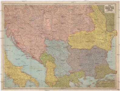 Pohraničí Rakousko-Uherska, Rumunska, Srbska a Bulharska