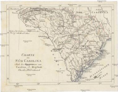 Charte von Süd Carolina