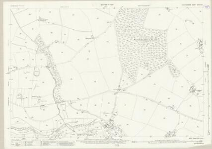 Staffordshire XXXVII.12 (includes: Hopton And Coton; Stafford; Tixall) - 25 Inch Map