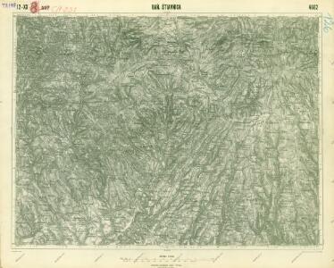 III. vojenské mapování 4662